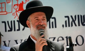 Chief Rabbi Yona Metzger